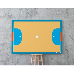 Suchościeralna tablica boisko tenis 120 x 80 cm