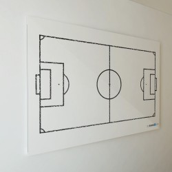 Suchościeralna tablica piłka nożna